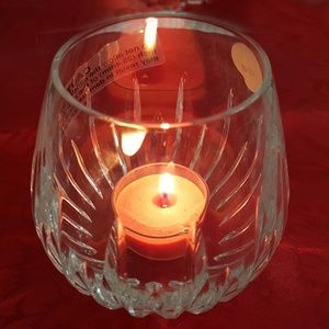 WATERFORD CRYSTAL VOTIVE CANDLE HOLDER